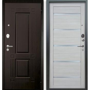 Сейф-дверь Аргус Люкс АС 2П Триумф Венге/Александра Буксус