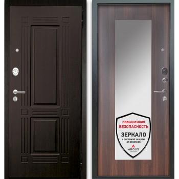 Сейф-дверь Аргус Люкс АС 2П Триумф Венге/Милли Коньяк Калифорния