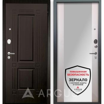 Сейф-дверь Аргус Люкс АС 2П Триумф Венге/Вояж Белое дерево