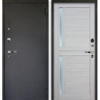 Сейф-дверь Аргус Люкс ПРО Черный шелк Мирра Буксус