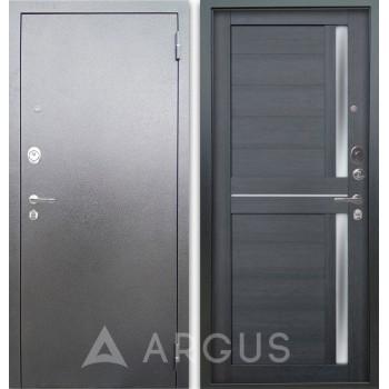 Сейф-дверь Аргус Люкс АС Серебро антик Мирра Лунная ночь