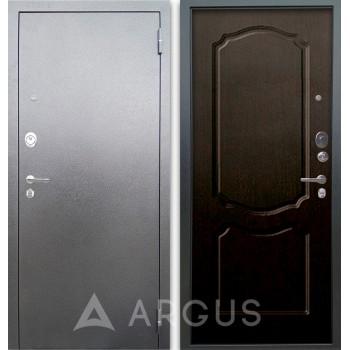 Сейф-дверь Аргус Люкс АС Серебро антик Сонет Венге тисненый