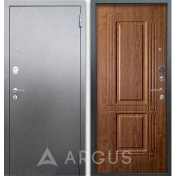 Сейф-дверь Аргус Люкс АС Серебро антик Триумф Дуб золотой