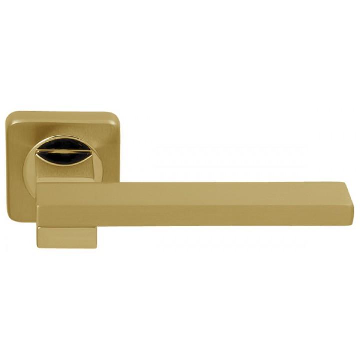 Ручка раздельная Bea (SQ ROSET) матовое золото/золото