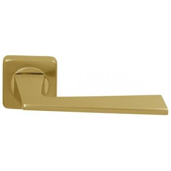 Ручка раздельная Dido (SQ ROSET) матовое золото/золото