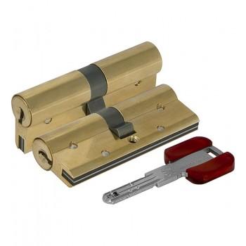 Цилиндровый механизм Cisa RS3 OL3S1-18.66 (80 мм/35+10+35), ЛАТУНЬ