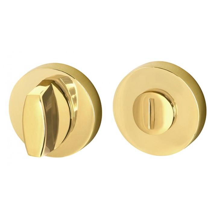 Ручка поворотная WC-BOLT BK6/URB GOLD-24 Золото 24К